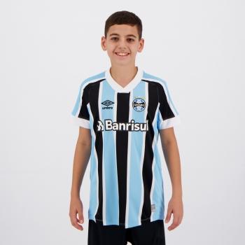 Camisa Umbro Grêmio I 2021 Juvenil