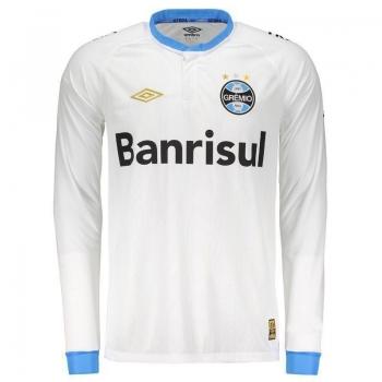 Camisa Umbro Grêmio II 2015 Manga Longa com Número