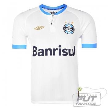 Camisa Umbro Grêmio II 2015 com Número