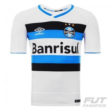 Camisa Umbro Grêmio II 2016 Torcedor com Número
