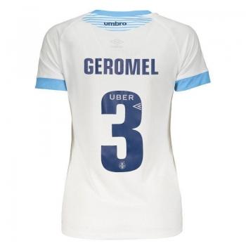 Camisa Umbro Grêmio II 2018 3 Geromel Feminina