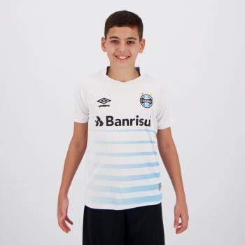 Camisa Umbro Grêmio II 2021 Juvenil