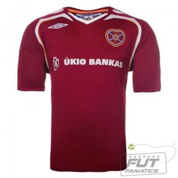 Camisa Umbro Hearts Home 2009