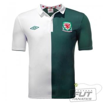 Camisa Umbro País de Gales Away 2013