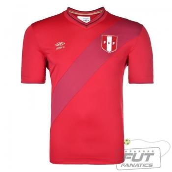 Camisa Umbro Peru Away 2015
