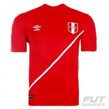 Camisa Umbro Peru Away 2016