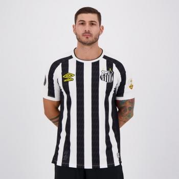 Camisa Umbro Santos II 2021 Libertadores