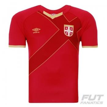 Camisa Umbro Sérvia Home 2015