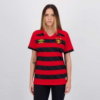 Camisa Umbro Sport Recife I 2021 Feminina