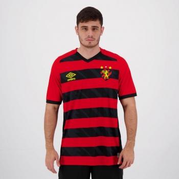 Camisa Umbro Sport Recife I 2021 Jogador