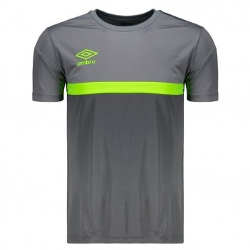 Camisa Umbro TWR Colors Cinza e Grafite