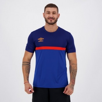 Camisa Umbro Twr Colors Marinho E Royal