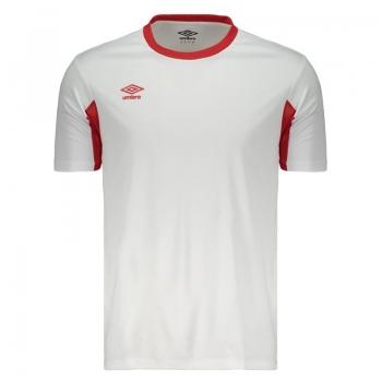 Camisa Umbro Twr Core Branca e Vermelha