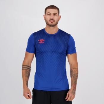 Camisa Umbro TWR Graphic Pró Velocita Azul