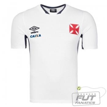 Camisa Umbro Vasco Concentração 2014 Branca