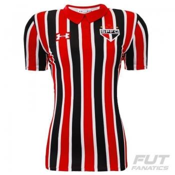 Camisa Under Armour São Paulo II 2016 Feminina
