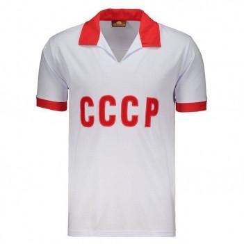 Camisa União Soviética Retrô Branca N°9