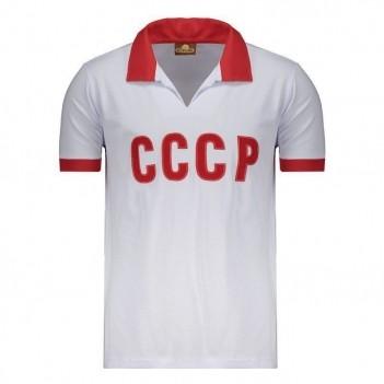 Camisa União Soviética Retrô Branca