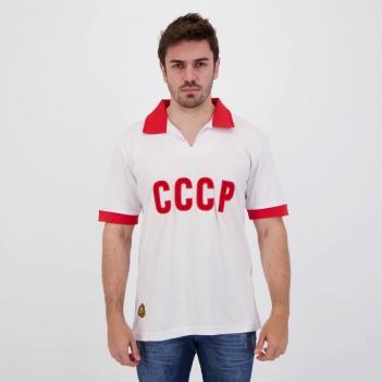Camisa União Soviética Retrô CCCP Branca