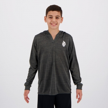 Camisa Vasco Believe Infantil Cinza Mescla