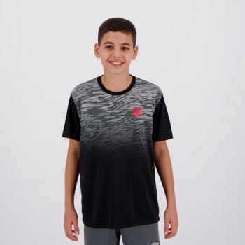 Camisa Vasco Label Infantil Preta