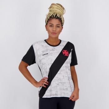 Camisa Vasco Proud Feminina Preta