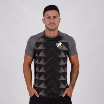 Camisa Vasco Triangles Chumbo