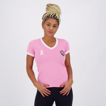 Camisa Vitória Outubro Rosa 2020 Feminina