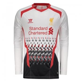 Camisa Warrior Liverpool Away 2014 Manga Longa