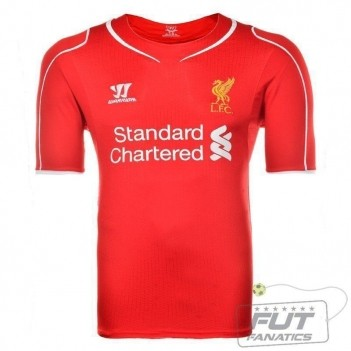 Camisa Warrior Liverpool Home 2015