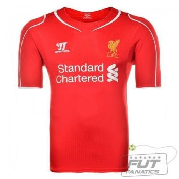 Camisa Warrior Liverpool Home 2015