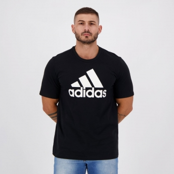 Camiseta Adidas Basic Logo Preta