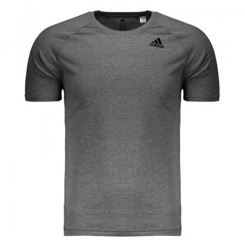 Camiseta Adidas D2m Heathered Grafite