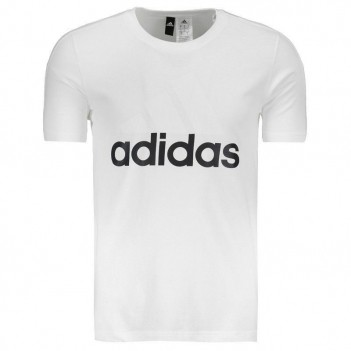 Camiseta Adidas Essentials Branca