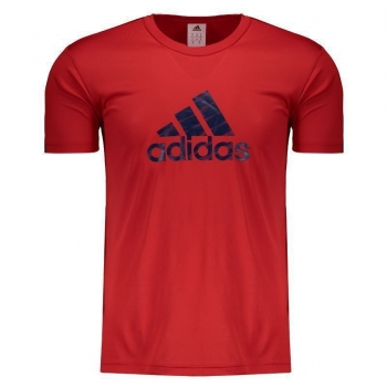 Camiseta Adidas Graphic Vermelha
