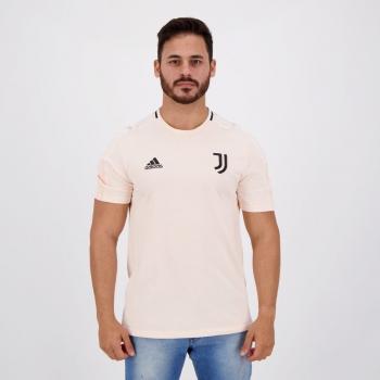 Camisa Adidas Juventus Rosa Claro