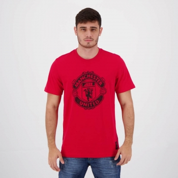 Camiseta Adidas Manchester United Gráfica Vermelha