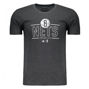 Camiseta Adidas NBA Brooklyn Nets Mescla