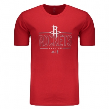 Camiseta Adidas NBA Houston Rockets Vermelha