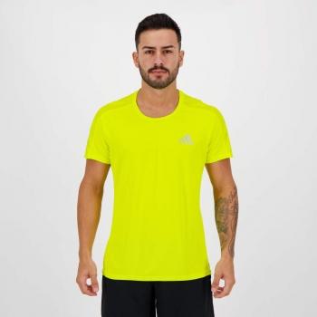 Camiseta Adidas Own The Run Amarela