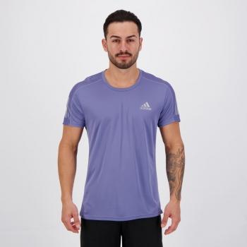 Camiseta Adidas Own The Run Azul Claro