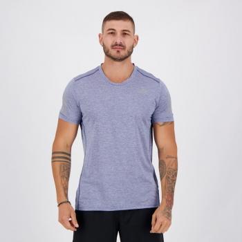 Camiseta Adidas Own The Run Azul Mescla