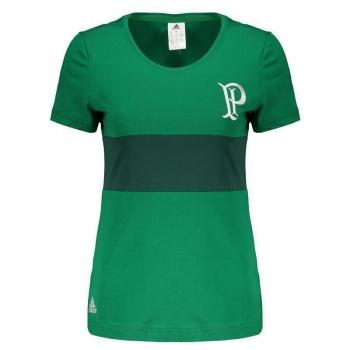 Camiseta Adidas Palmeiras Premium Feminina