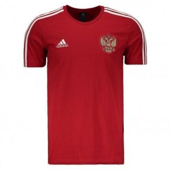 Camiseta Adidas Rússia 3 Stripes