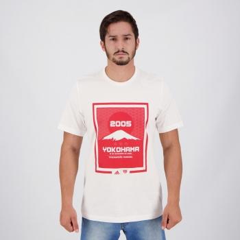 Camiseta Adidas São Paulo Yokohama Branca