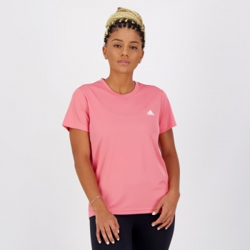 Camiseta Adidas SL Performance Feminina Rosa