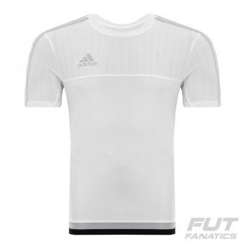 Camisa Adidas Tiro 15 Branca