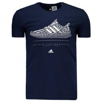 Camiseta Adidas Ultra Boost Marinho