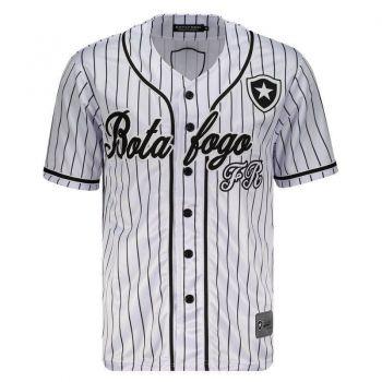 Camisa Baseball Botafogo Branca