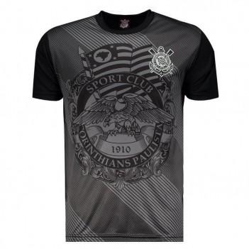 Camisa Corinthians Águia Sublimada Preta
